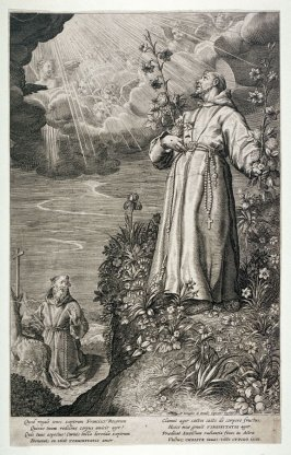 St. Francis Receiving Stigmata