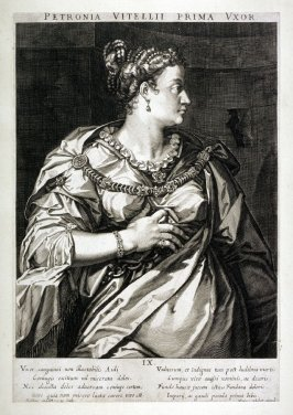 Petronia , First Wife of Vitellius, from set of Roman Emperors and Empresses
