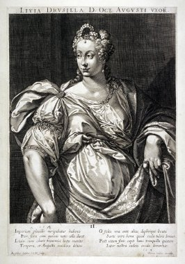 Livia , Wife of Augustus, from set of Roman Emperors and Empresses