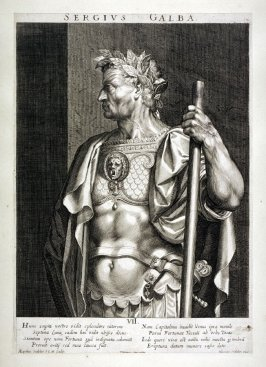 Galba, from set of Roman Emperors and Empresses