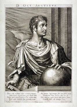 D. Oct[iavianus] Augustus, from set of Roman Emperors and Empresses