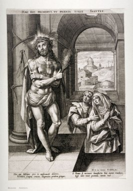 Christ at the Column with the Virgin and Saint John the Evangelist