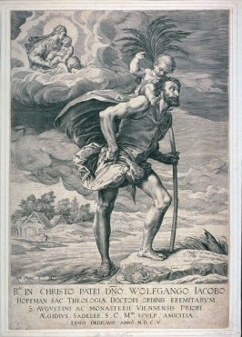 St. Christopher (crossing the river with the Christ Child)