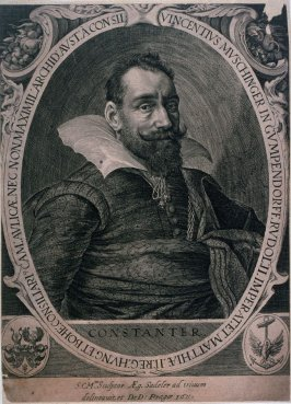 Vincent Muschinger von Gumpendorff, Phusician to the Emperor Rudolph II in 1611