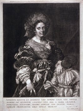 Laura de Dianti with a Black Page (The Beautiful Slave)