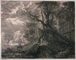 Landscape with Tree (from the Four Tyrolian Landscapes)