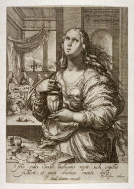 Mary Magdalene, from series of Famous Women of the New Testament