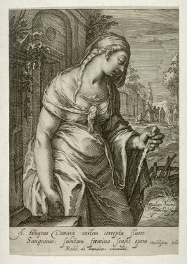 The Woman Sick from the Loss of Blood, from series Women of the New Testament