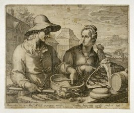 Two Dutch Peasants at Market
