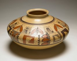 Polychrome jar