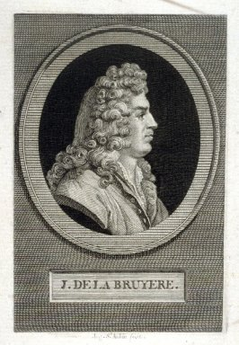 Portrait of J. de la Bruyere
