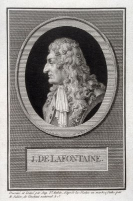 Portrait of J. de Lafontaine