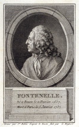 Portrait of Fontenelle