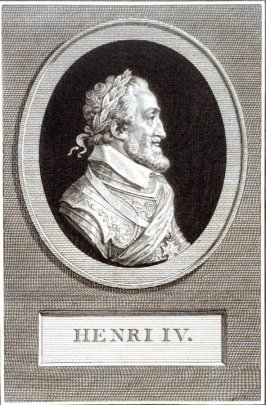 Portrait of Henri IV