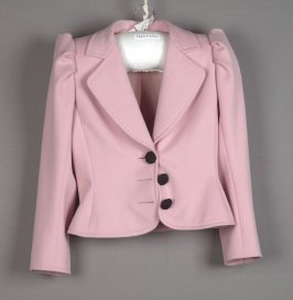 Jacket (worn with black skirt, b, or pants 1985.44.140).