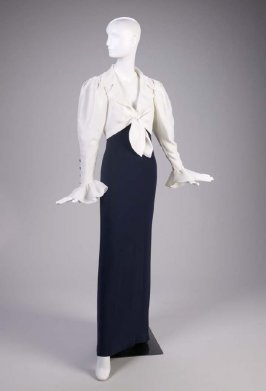 Evening ensemble (jacket and gown)