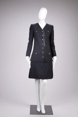 Suit: jacket and skirt