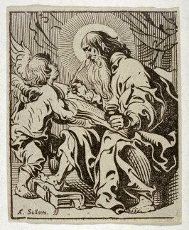 Saint With Quill In Hand
