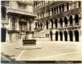 Cortile nel Palazzo Ducale (Courtyard of the Ducal Palace, Venice)