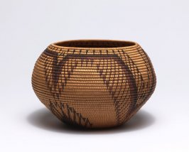 Coiled basket, degikup