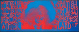 Moby Grape,  It's a Beautiful Day, The Other Half, Tim Hardin, January 24 & 25, Winterland