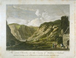 The seven churches in the County of Wicklow, Ireland