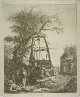 Landscape with Tree and Old Well