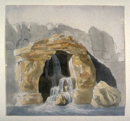 Design for Rock Work, Virginia Water in Windsor Great Park