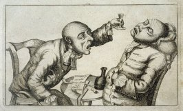 Over Indulgence in Drinking, plate 2 from Tim Bobbin [pseudonym of John Collier], Human Passions Delineated (1773)