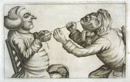 Pulling a Tooth No. 1, plate 5 from Tim Bobbin [pseudonym of John Collier], Human Passions Delineated (1773)