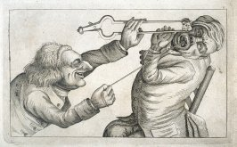 Pulling a Tooth No. 4, plate 8 from Tim Bobbin [pseudonym of John Collier], Human Passions Delineated (1773)