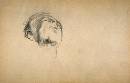 "Man's Head, study for a figure in the painting ""El Jaleo"" in the Isabella Stewart Gardner Museum"