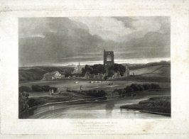 Kirkstall Abbey on the River Aire