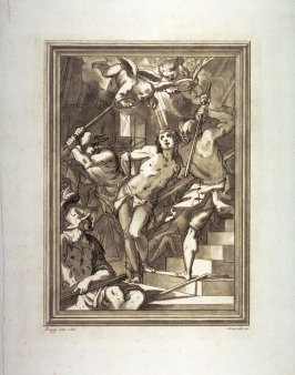 The Flagellation (?), after Giovanni Battista Paggi, from the series Disegni originali d'eccelenti pittori...