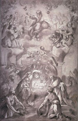 Adoration of the Shepherds, after Francesco Vanni, from the series Disegni originali d'eccelenti pittori...