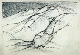 Page 2 in the untitled Sketchbook of Mountain Scenes