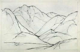 Page 7 in the untitled Sketchbook of Mountain Scenes