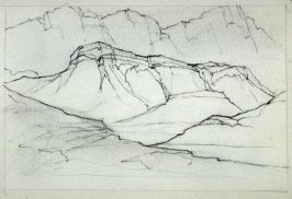 Page 11 in the untitled Sketchbook of Mountain Scenes