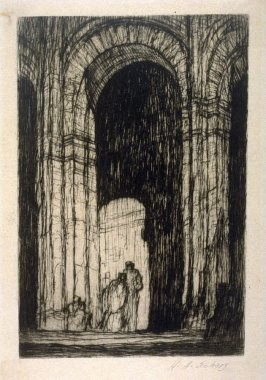 A Church Portal (untitled)