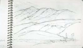 Page 12 in the untitled Sketchbook of Mountain Scenes