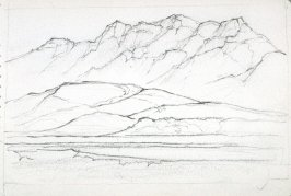 Page 14 in the untitled Sketchbook of Mountain Scenes