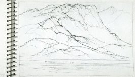 Page 17 in the untitled Sketchbook of Mountain Scenes