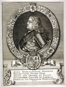 Portrait of His Highness William Charles Henric Friso, Prince of Orange and Nassau