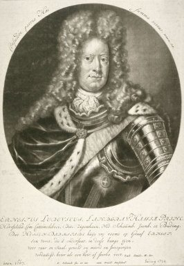 Portrait of Ernst Ludwig, Margrave of Hesse-Darmstadt