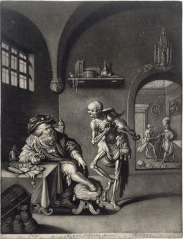 Death Fiddling Before an Old Man