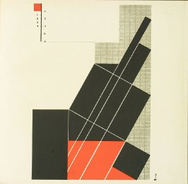 Untitled, Plate XIX, pg. 219, in the book Staatliches Bauhaus Weimar, 1919 - 1923 by Walter Gropius (Munich: Bauhausverlag, 1923)