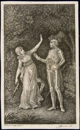 Untitled (Death and Young Woman)