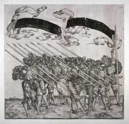 Meritorious Soldiers: Lancemen, from: The Triumph of Maximilian I