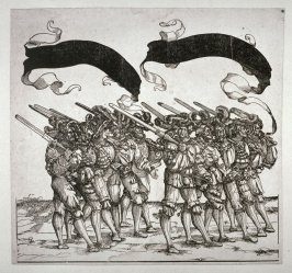 Meritorious Soldiers: Swordsmen, from: The Triumph of Maximilian I