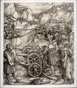 Illustration from Theuerdank (Allegorical work commissioned by Emperor Maximilian I )
